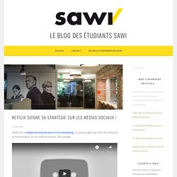 """Netflix soigne sa stratégie sur les médias sociaux ! – Formation SAWI de """"Spécialiste en médias sociaux"""""""