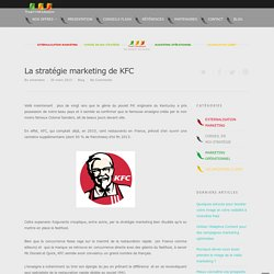 La stratégie marketing de KFC