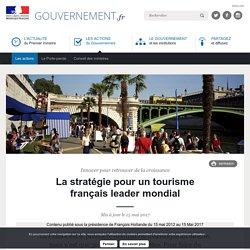La stratégie pour un tourisme français leader mondial