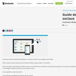 Guide de Stratégie d'utilisation des médias sociaux