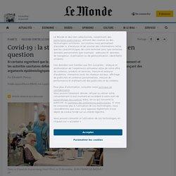 Covid-19: la stratégie vaccinale française en question