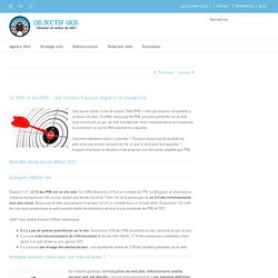 Stratégie web pour les PME