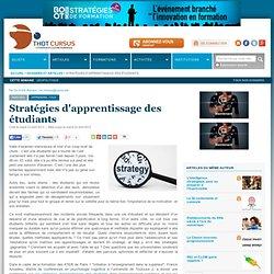 Stratégies d'apprentissage des étudiants