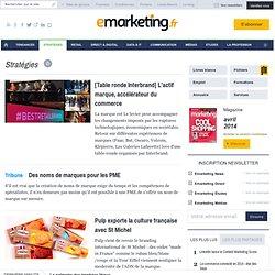 Marques et Lancements de produits, les articles