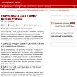 9 Strategies to Build a Better Banking Website