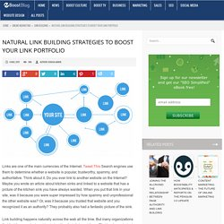 Natural Link Building Strategies to Boost Your Link Portfolio