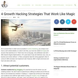 4 Growth Hacking Strategies That Work Like Magic - Ade Camilleri Marketing News