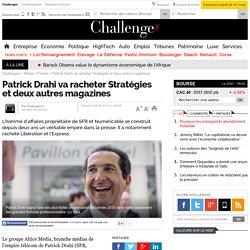 Patrick Drahi va racheter Stratégies et deux autres magazines