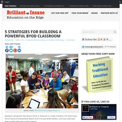 5 Strategies for Building a Powerful BYOD Classroom