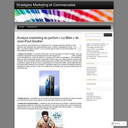 Stratégies Marketing et Commerciales