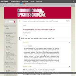 Wargames et stratégies de communication
