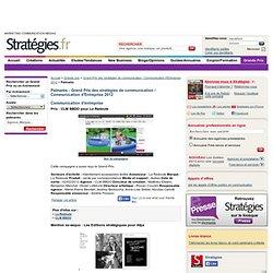 Palmares Grand Prix des stratégies de communication / Communication d'Entreprise 2012