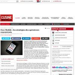 Free Mobile : les stratégies des opérateurs concurrents