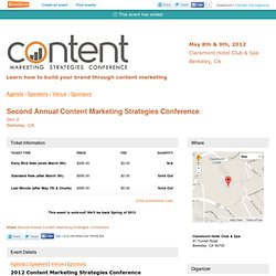New Speakers & Content Added! - Eventbrite