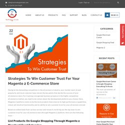 Strategies To Win Customer Trust For Your Magento 2 E-Commerce Store