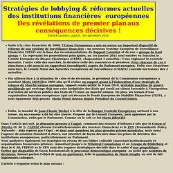 Stratégies de lobbying