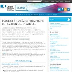 École et Stratégies : démarche de révision des pratiques