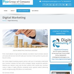 Digital Marketing Strategies Pretoria by DigitalMarketingPTA