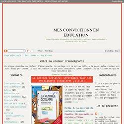 La rentrée scolaire: Stratégies pour les enseignants (chapitres 21 à 25)