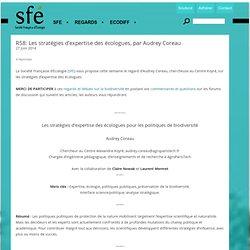 R58: Les stratégies d'expertise des écologues, par Audrey Coreau