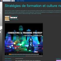 Stratégies de formation et culture numérique: Se convertir et se former avec le numérique