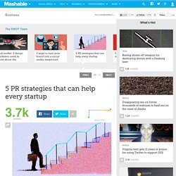 5 PR strategies that can help every startup