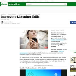 Strategies for How to Improve English Listening Skills
