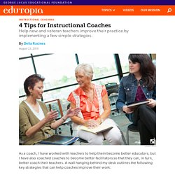 Strategies for Instructional Coaching