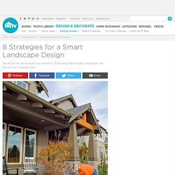 8 Strategies for a Smart Landscape Design