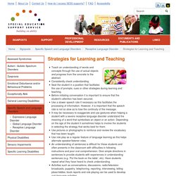 Strategies for Learning and Teaching