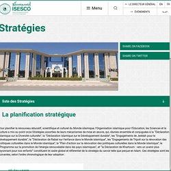 Organisation Islamique pour l'Education, les Sciences et la Culture – ISESCO –