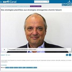 Thomas Durand, CNAM - Des stratégies planifiées aux stratégies émergentes chemin faisant