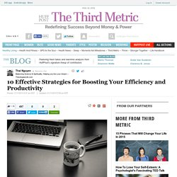10 Effective Strategies for Boosting Your Efficiency and Productivity