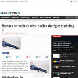 Marques de textile et ados : quelles stratégies marketing ?