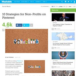 10 Strategies for Non-Profits on Pinterest