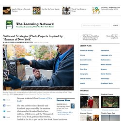 New York Times lesson plans