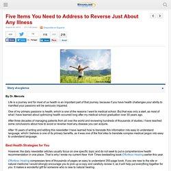 Health Strategies to Reverse Any Illness