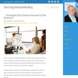 Strategies That Ensure Success In The Business