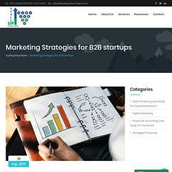 Marketing Strategies for B2B startups