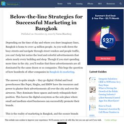Below-the-line Strategies for Successful Marketing in Bangkok