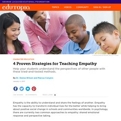4 Proven Strategies for Teaching Empathy