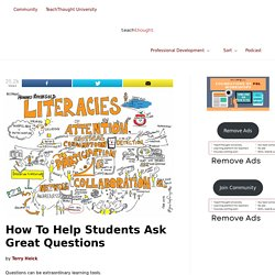 8 Great Strategies To Help Students Ask Great Questions - TeachThought