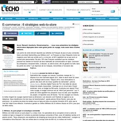 E-commerce : 6 stratégies web-to-store