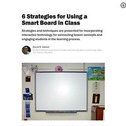 6 Strategies for Smart Board