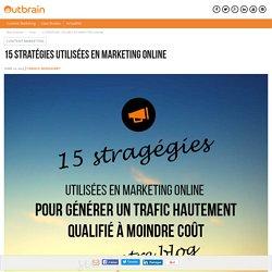 Stratégies Utilisées en Marketing Online
