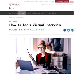 7 strategies to ace your virtual interview