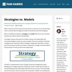Strategies vs. Models
