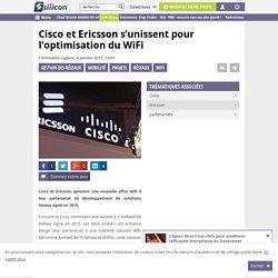 Accord stratégique : Cisco et Ericsson remettent le couvert