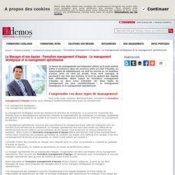 Formation management d'équipe : Le management stratégique et le management opérationnel