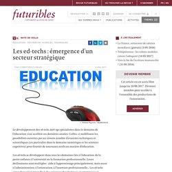 Les ed-techs : émergence d'un secteur stratégique - Futuribles - Veille, prospective, stratégie